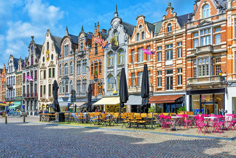 Grote Markt in Mechelen's Old Town