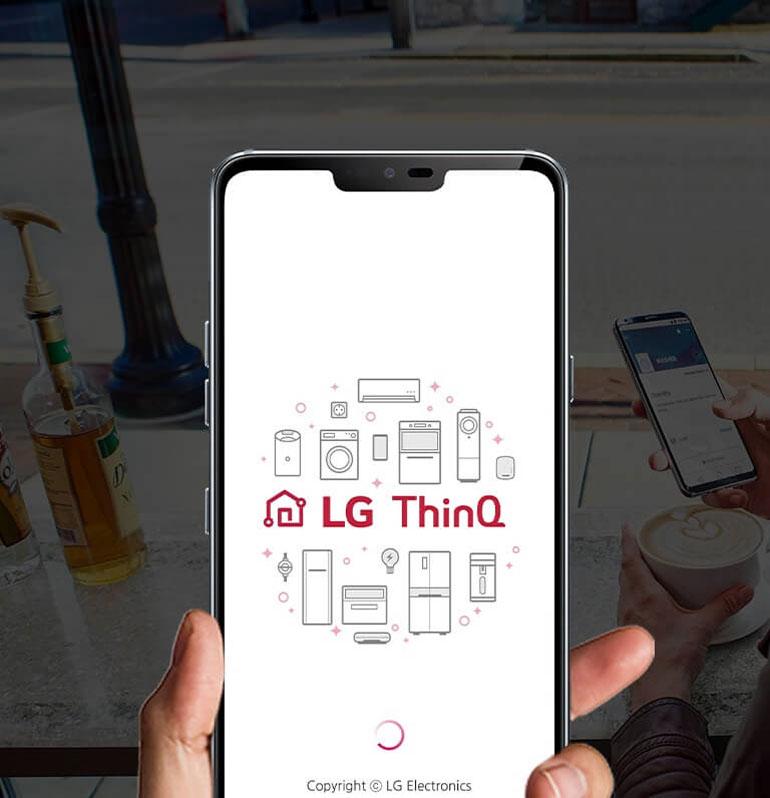 تعهد الجی به زندگی خوب با برنامه کاربردی AI ThinQ