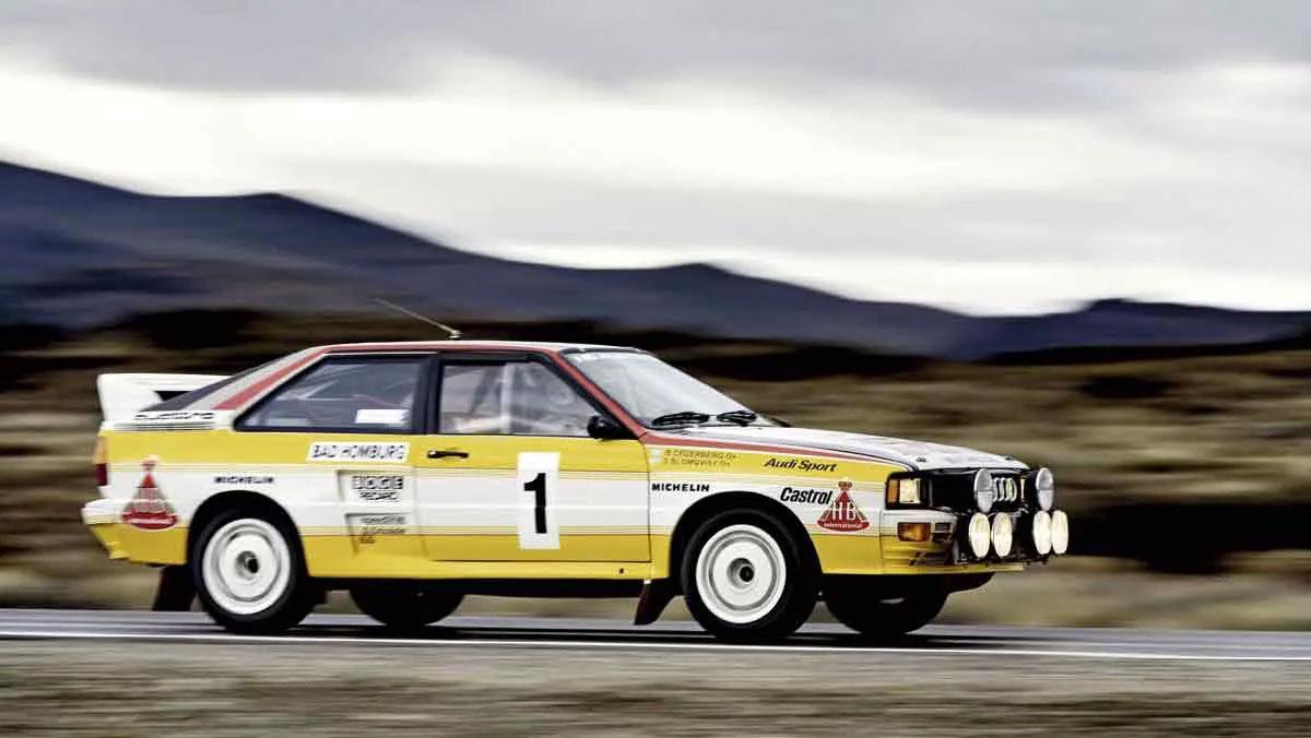 موفقیت آئودی در دهه هشتاد بسیاری از خودروسازان را به شرکت در مسابقات رالی علاقهمند کرد