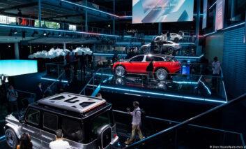 رونمایی از مدلهای الکتریکی جدید بنز در نمایشگاه مونیخ