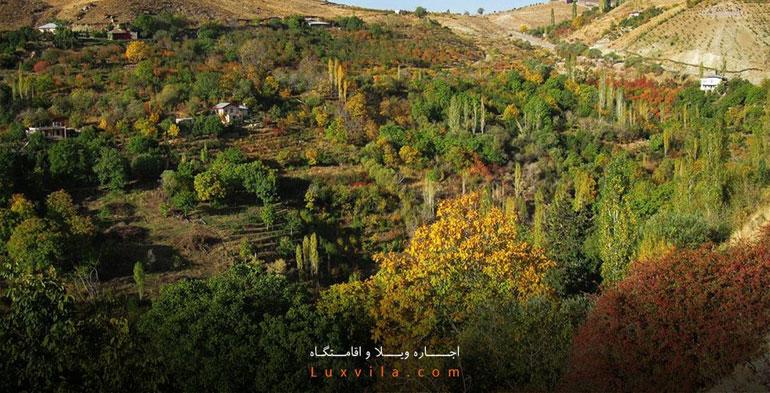 روستای برگ جهان لواسان