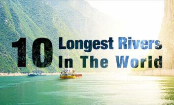 طولانیترین رودخانههای جهان