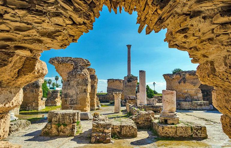 Antoine Baths at Carthage