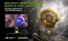 نمایشگر ROG Swift 360Hz ایسوس میزبان مسابقات جهانی Dota 2 Ti10 شد