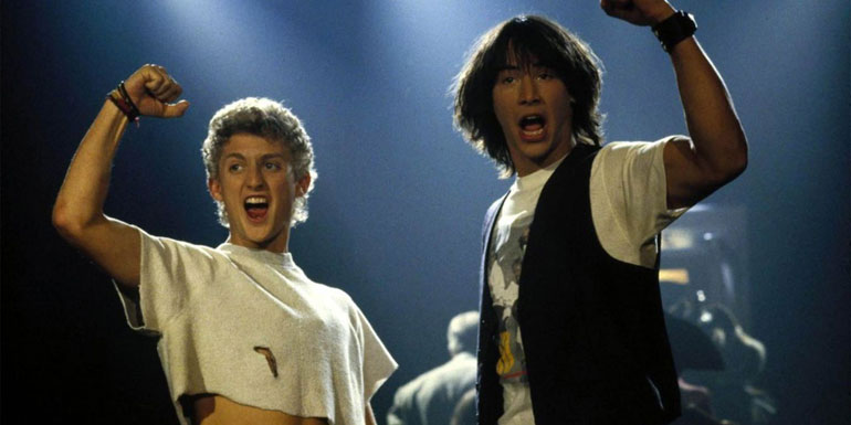 Bill & Ted's Excellent Adventure - 6.9/10