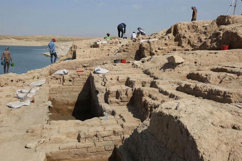 Bronze Age palace, Kurdistan Region, Iraq