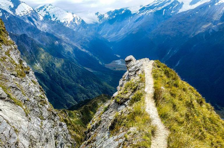 Cascade Saddle Route, New Zealand