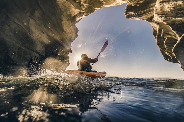 Dinosaur Caves, California
