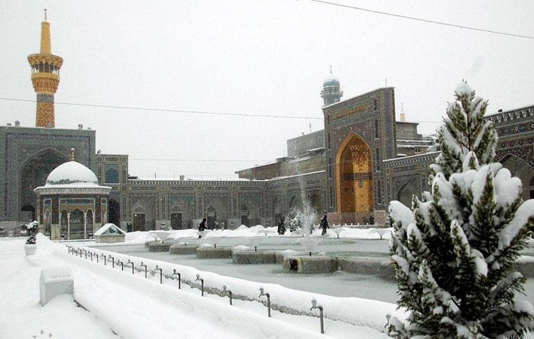 در زمستان تور مشهد را با پرشین هتل ارزان رزرو کنید