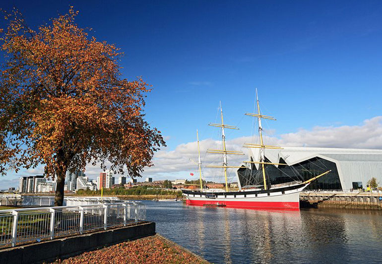 Riverside Museum and Tall Ship, Glasgow