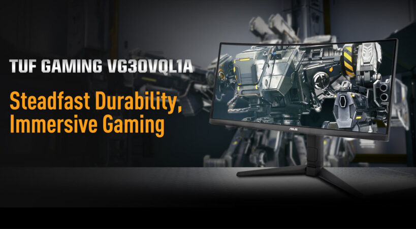 نمایشگر  TUF Gaming VG30VQL1A ایسوس معرفی شد